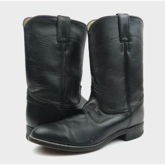1b05cbf9cac Justin Boots Men's 7.5E Jackson Roper Cowboy Boots